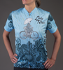 Lady Rider Empress Jersey Front Model View