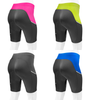Women's Luna Cycling Shorts Four Color Back View