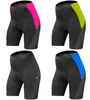 Women's Luna Cycling Shorts Four Color Front View