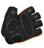 Orange Glove Padded Palm Detail