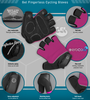 Aero Tech Pink Cycling Gloves Features