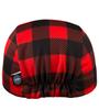 elastic on back of cycling cap