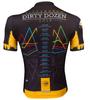Aero Tech Premiere Dirty Dozen Cycling Jersey Back View