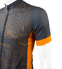 Cycling Jersey Topo Gray Sleeve Detail
