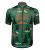 Aero Tech Commonwealth Crusher Sprint Jersey in Green Front View