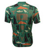 Aero Tech Commonwealth Crusher Sprint Jersey in Green Back View