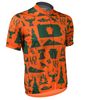 Aero Tech Commonwealth Crusher Sprint Jersey in Orange Off Front View