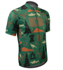 Aero Tech Commonwealth Crusher Sprint Jersey in Green Off Front View