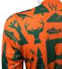 Commonwealth Crusher in Orange Top Back Detail