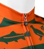 Commonwealth Crusher in Orange Collar Detail