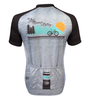 Aero Tech Peloton Jersey Your Mountain is Calling Front Back View