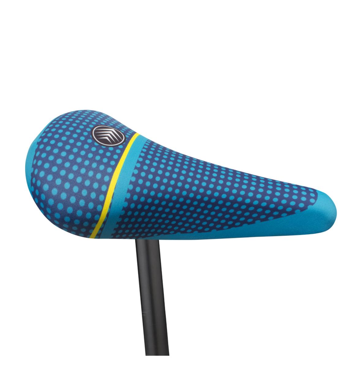 Aqua Blue NEW! Lycra Bicycle Seat Cover
