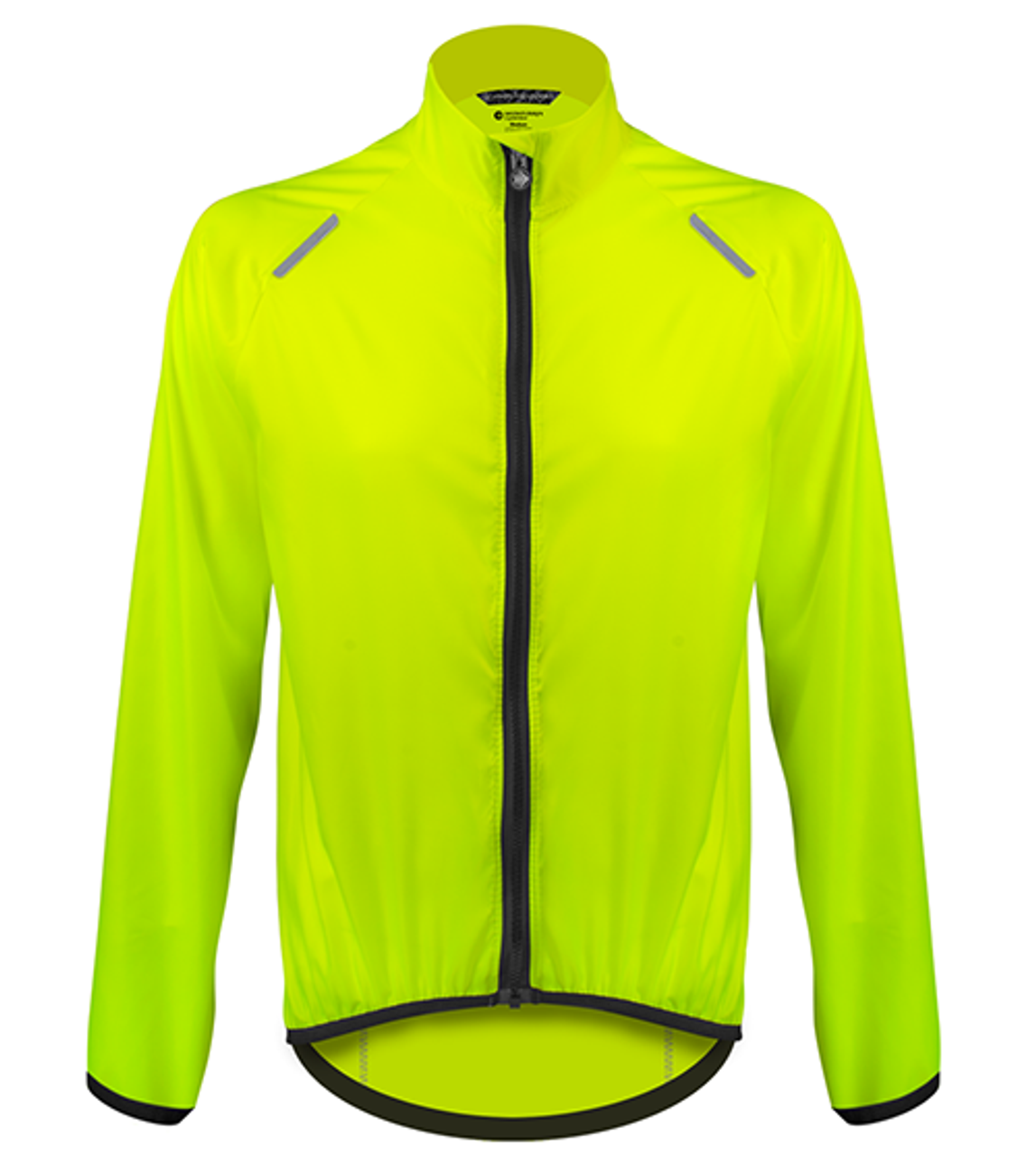 6db333860 Aero Tech TALL Windbreaker Jacket in Hi-Visibility Safety Yellow