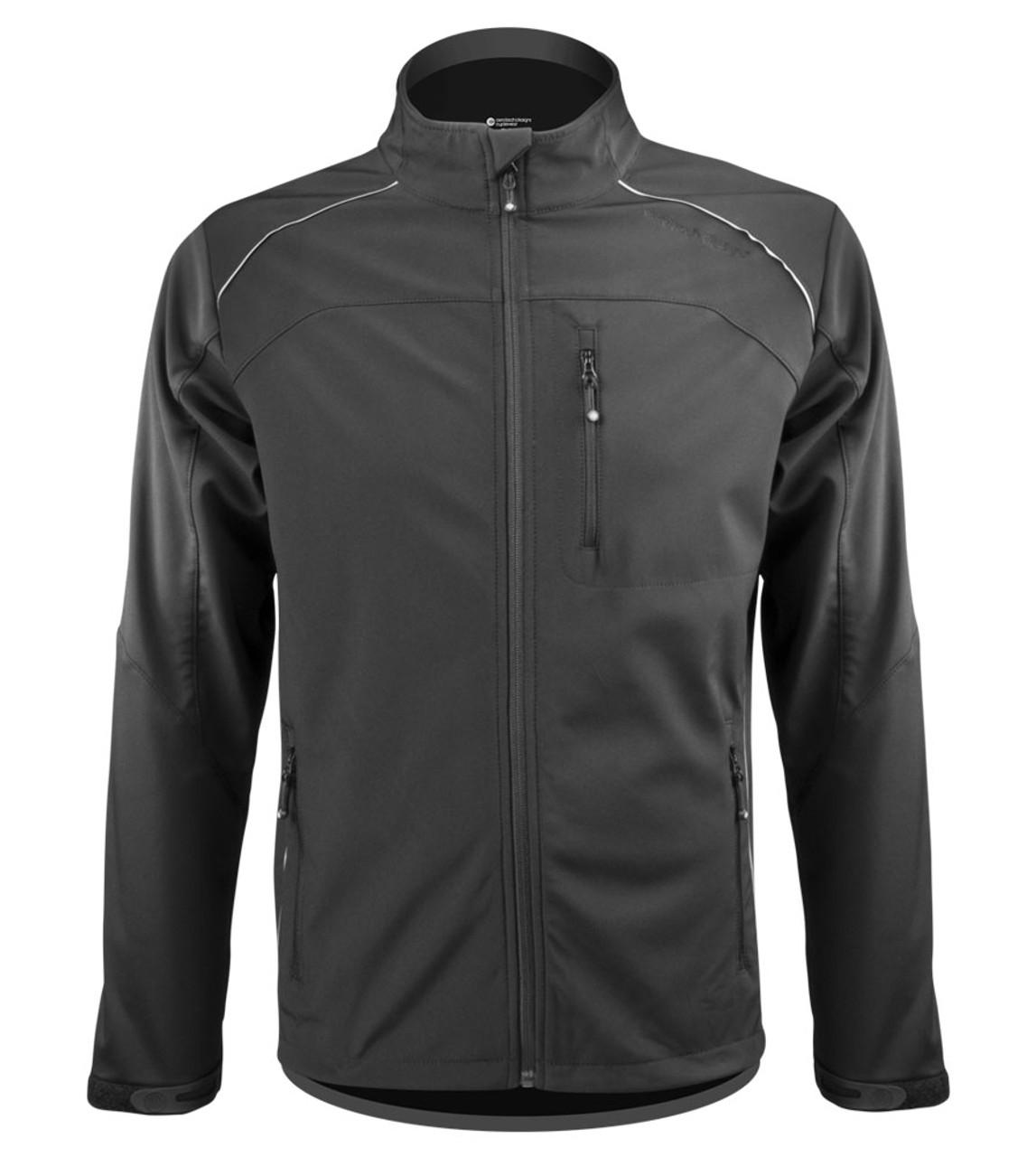 b4b3d57e655 Aero Tech Men's Multi-Sport Softshell Jacket - Windproof Breathable  Reflective