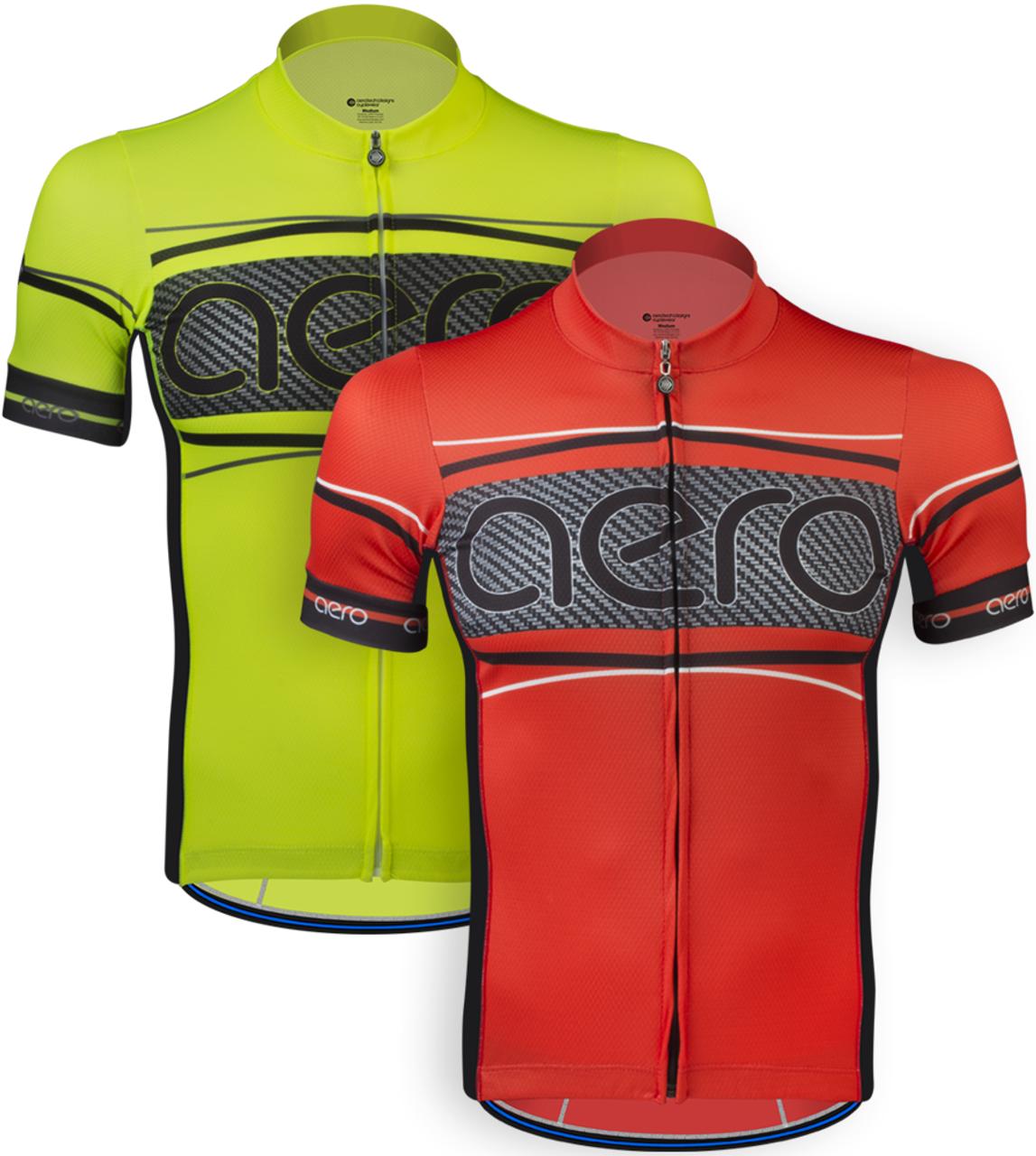 Aero Tech Designs Elite Recumbent Bike Jersey Cycling Top Made in USA