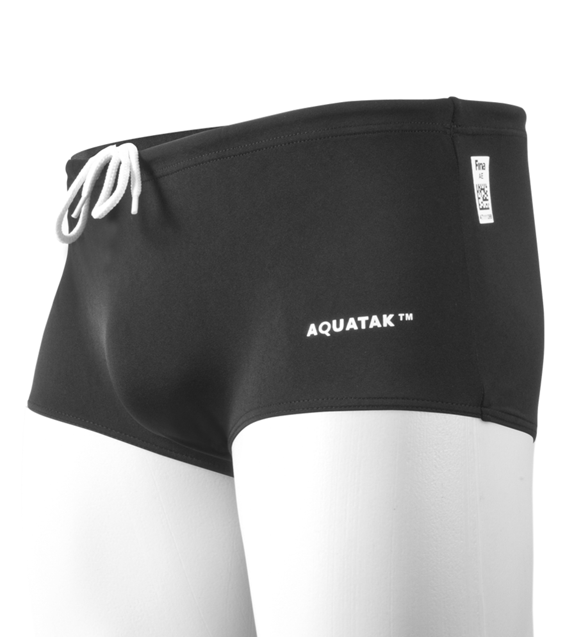 1a31191fc Men's Black Swim Trunks - FINA Approved Racing Swimsuit for Men