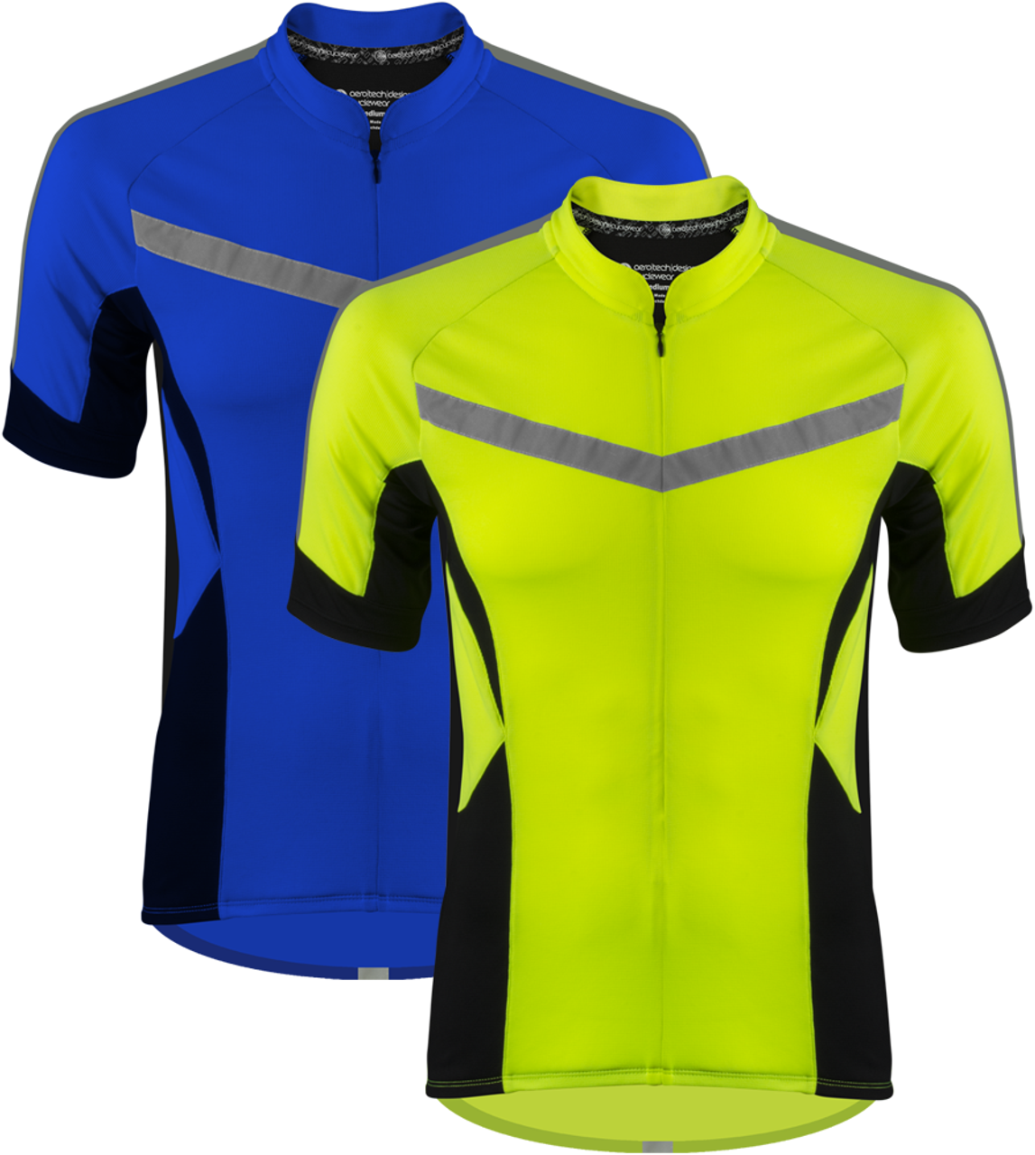 High Vis Reflective Cycling Jersey - Made for Visibility and Safety ... aa4c9448c
