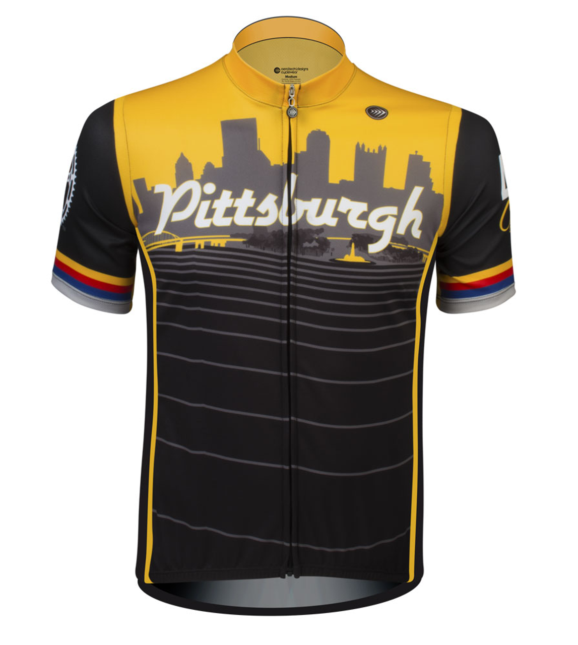 8984b5f73 Pittsburgh Themed Bike Jersey ?? Proudly Made In Pittsburgh