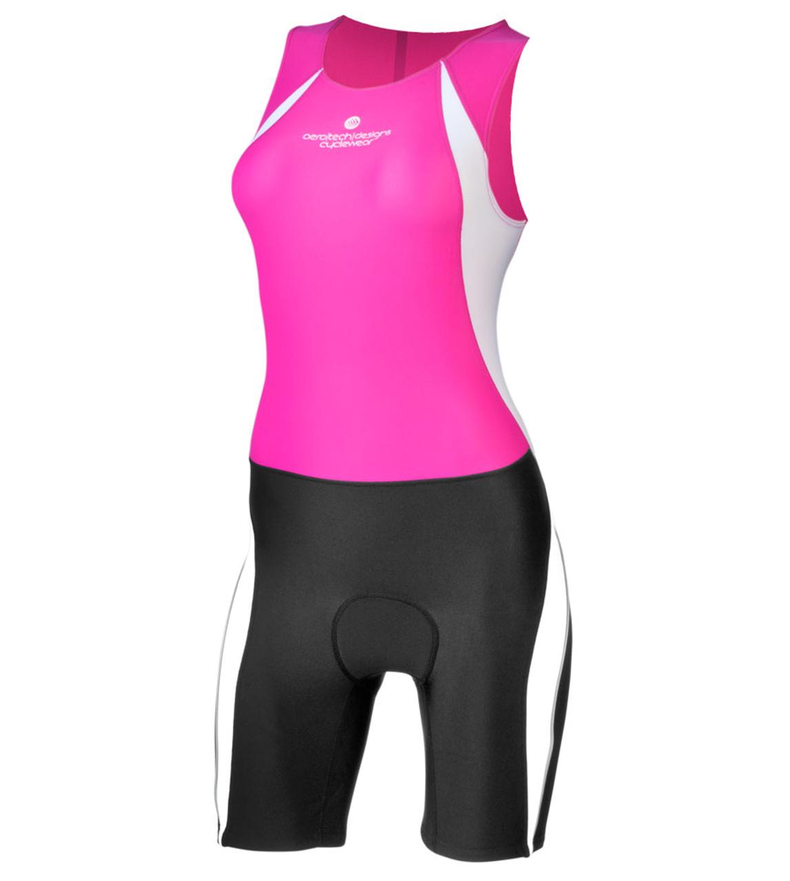 Aero Tech Women's Triathlon Competition Skin Suit - Two Color Options