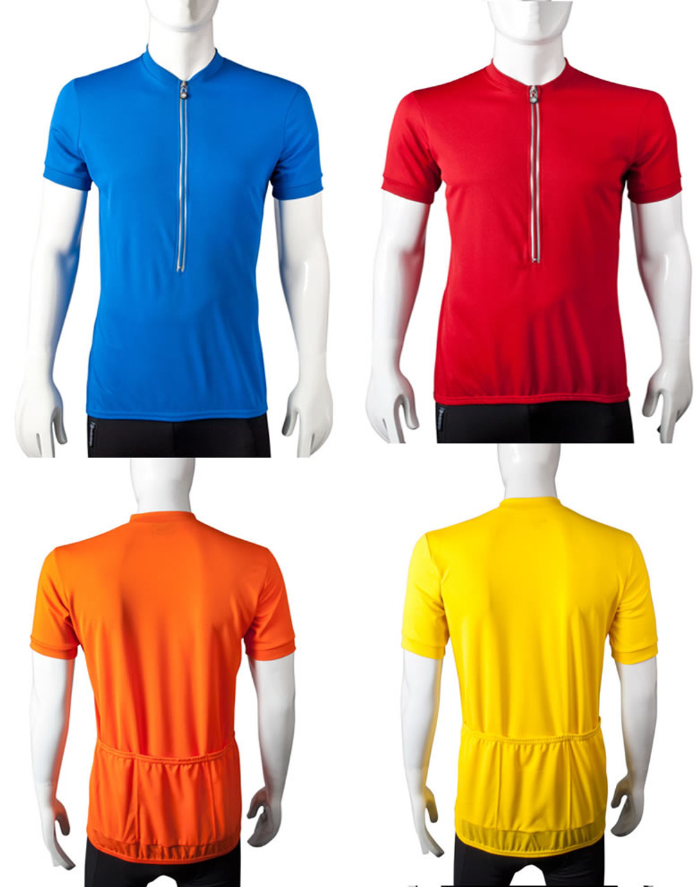 34156ee2d Tall Men s Bicycling Jersey with Extra Long Length Sleeves and Torso
