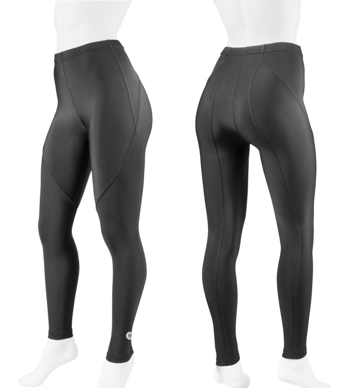 2dd7e23087 Women's Triumph Black Compression Workout Tights by Aero Tech Designs