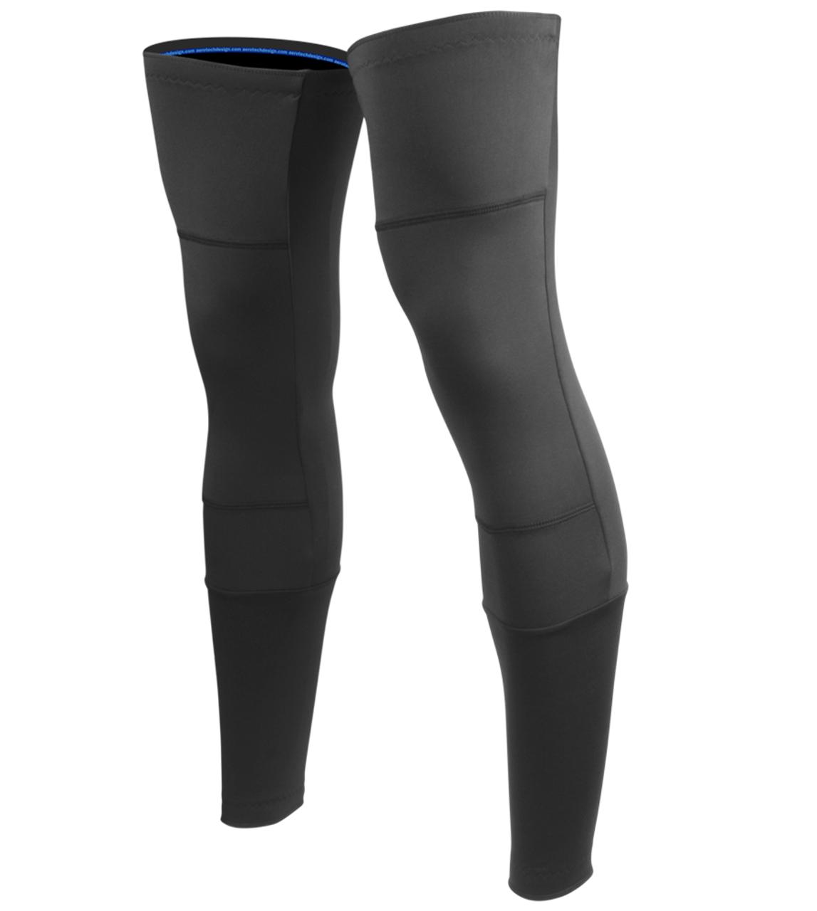 289b78fafe Aero Tech Designs Leg Warmers Stretch Fleece Double Layer Knee Warmer