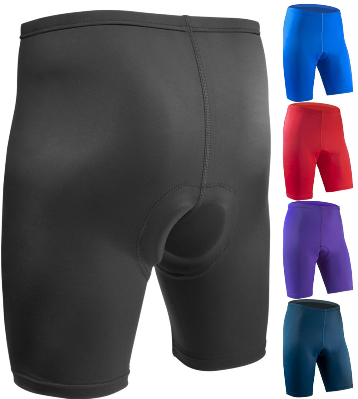 Bike Shorts Women with Padding 9 Inseam Gel Padded Cycling Padded Shorts Mountain Bike Bicycle