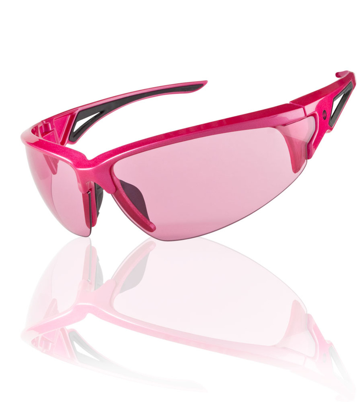 0cf56fb99800 Aero Tech Rose Colored Wrap Sunglasses Ultraviolet Protection