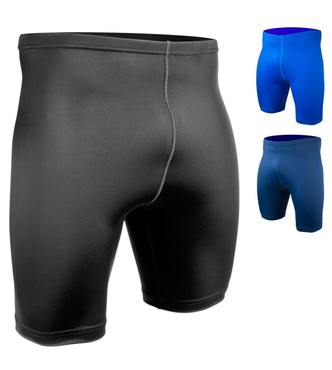 d0ffa597c447 Aero Tech Big Men's Spandex Exercise Compression Workout Short · Big Size  compression workout shorts ...