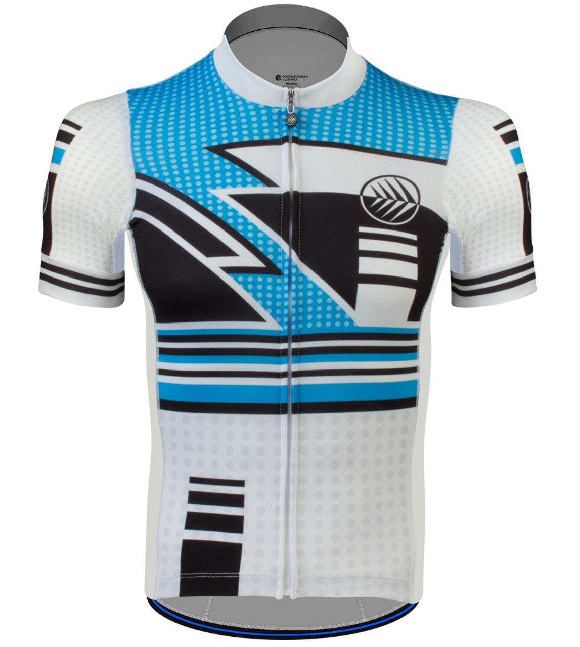 Aero Tech Men s Race Fit Cycling Jersey Metric Premiere Jerseys 49c7628c3
