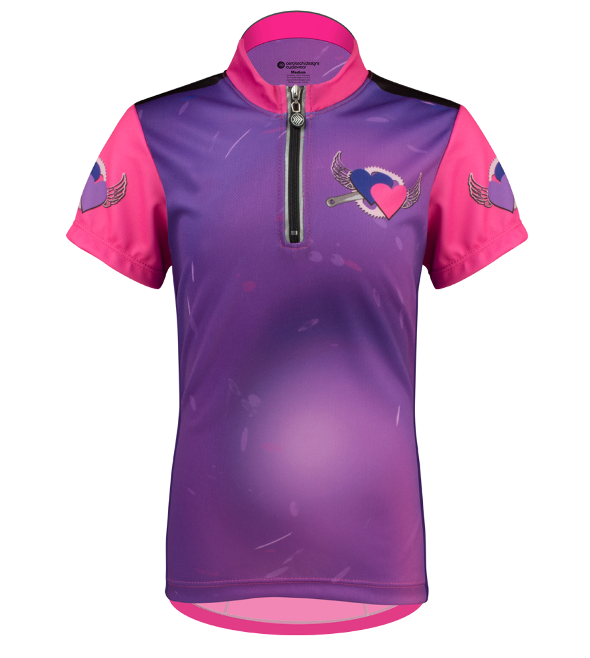1283c711d Aero Tech Youth Jersey - Flying Hearts Children's Cycling Jersey
