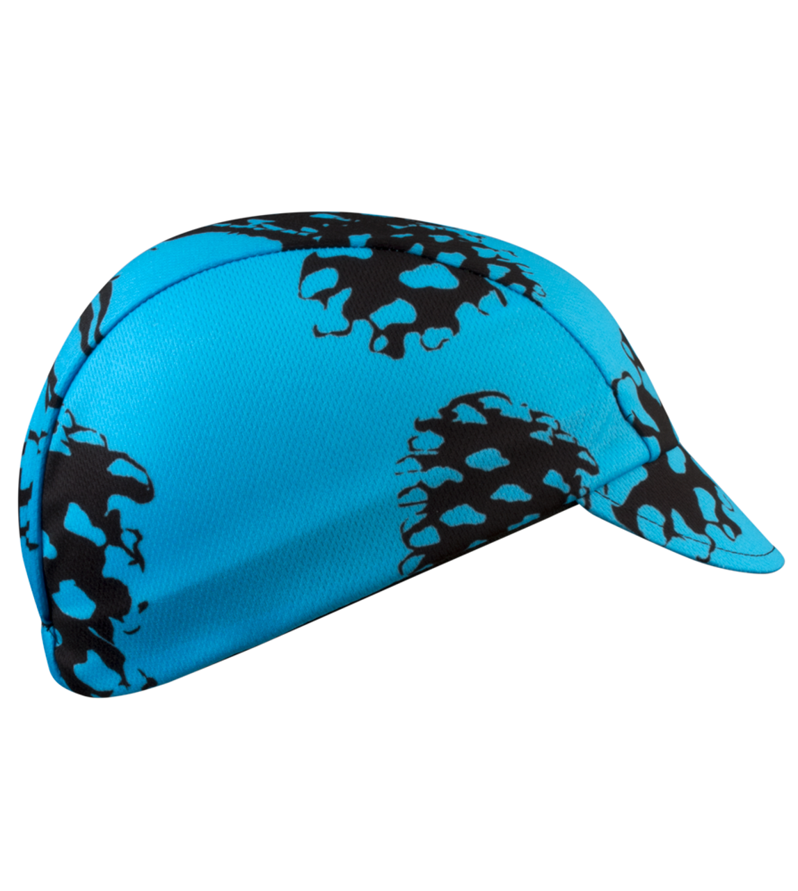 354de11159e Aero Tech Rush Cycling Caps - Pinecones in Blue - Made in USA