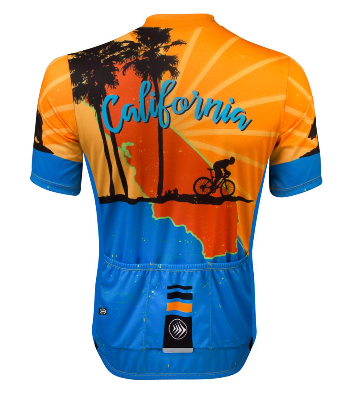 back of california spirit jersey