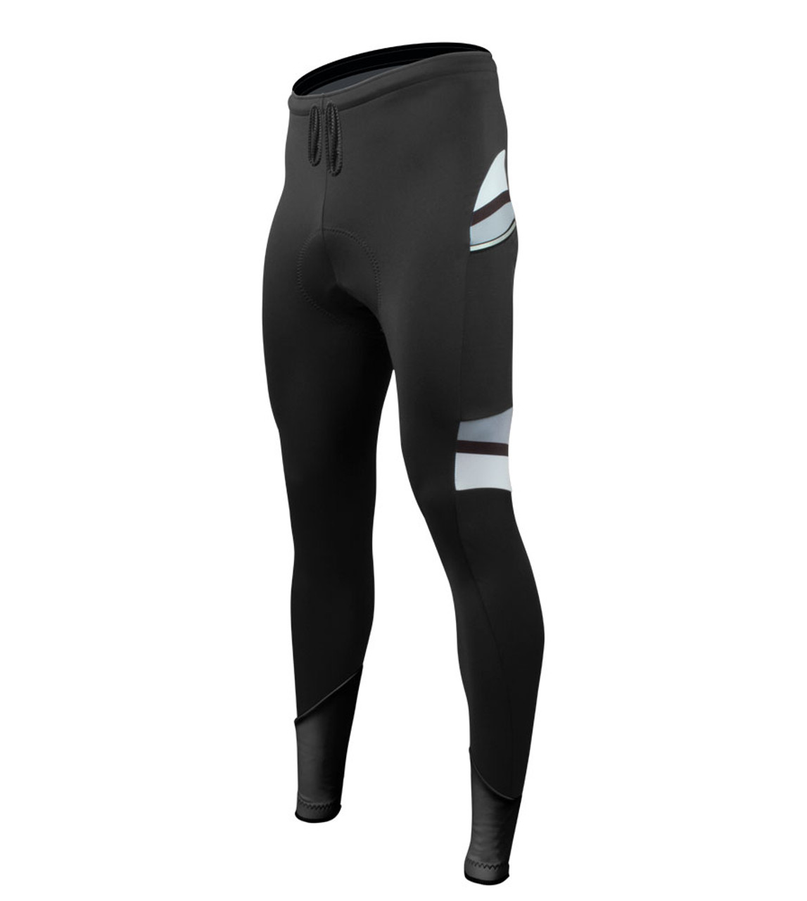 Aero Tech Men/'s All Day Cycling Tights with Pockets and Reflective Made in USA