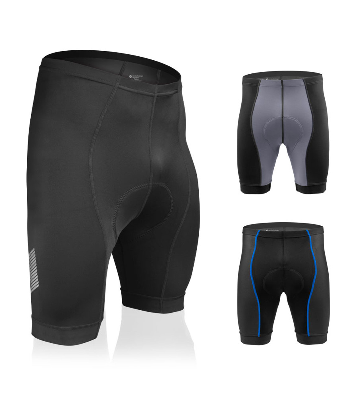 Gel Padded Cyclist Shorts,/& Matching Jersey Set Details about  /ProAthletica Men/'s High Quality