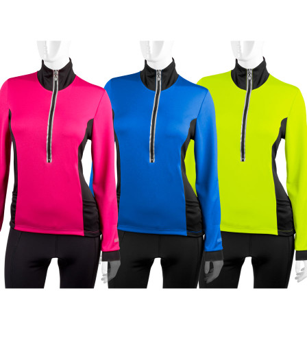 Aero Tech Women s Chilly Girl Cycling Jersey - Long Sleeve 1ac40a351
