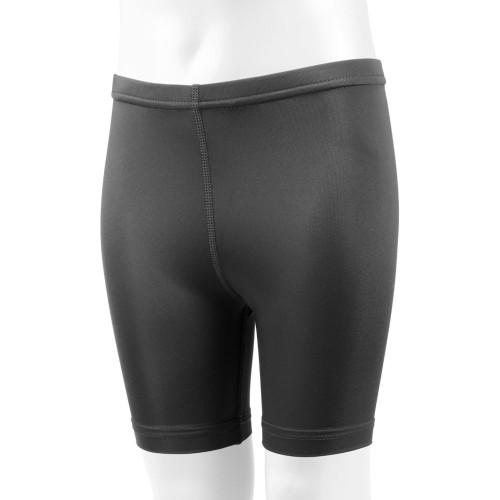 Aero Tech Youth Black Spandex Compression Exercise Short - UNPADDED 7f972a239