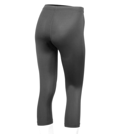 dee08d2d96acc Plus Size Women's Spandex Workout Capri in Navy, Black, and Charcoal