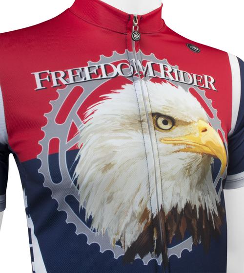 Eagle Aero Tech Designs Freedom Rider Bike Jersey Made in USA