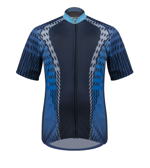 Men's Sprint Cycling Jersey Power Tread Front
