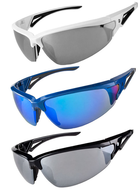 Wrap Cycling Sunglasses w UV Protection