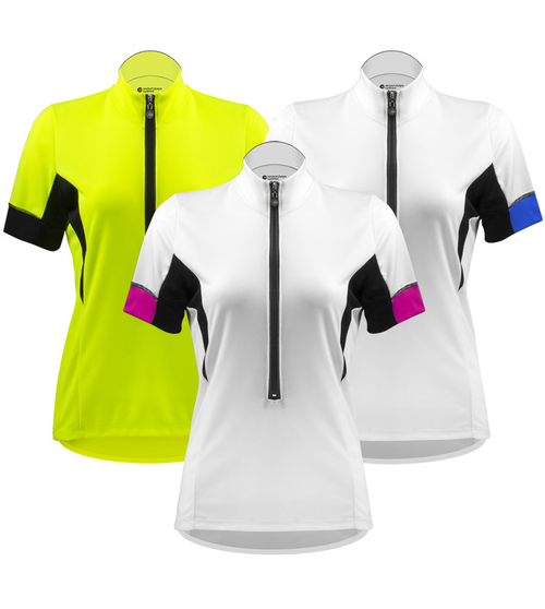 f4013d84f Aero Tech Women s Elite Cycling Jersey with Coolmax Micro-Mesh Fabric