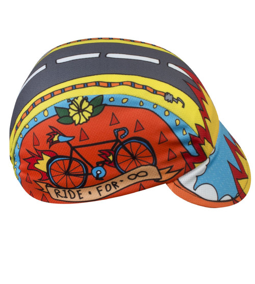 Ride for Infinity cycling cap