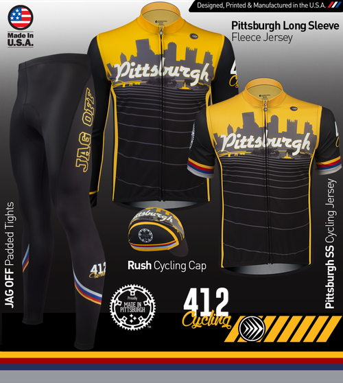 7bc1685da ... Bike Jersey Collar Detail · Pittsburgh Theme Kit Panel ...
