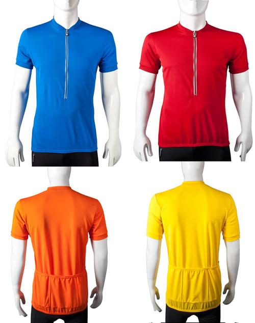 Aero Tech TALL Men's Cycling Jerseys - Extra Long Biking Top