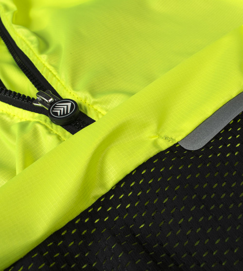 Aero Tech Designs Classic Cycling Gilet Vest Windbreaker Highly Visible USA Made