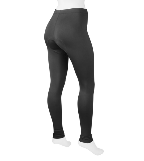 a98a77568958d5 ATD Women's Stretch Fleece Padded Cycling Tights - Made in USA