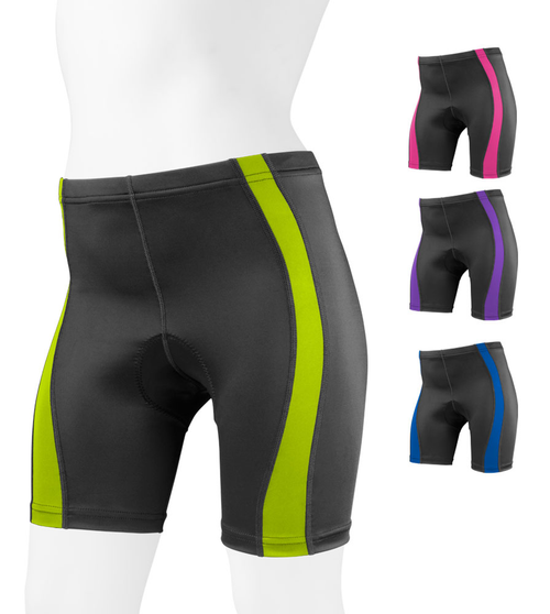 Women's Classic 2.0 Color Padded Bike Shorts