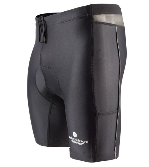 Aero Tech Men's PADDED Spinning Short Compression for Spin Class