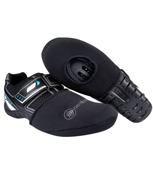 Neoprene Cycling Shoe Toe Cover with Opening for Cleats